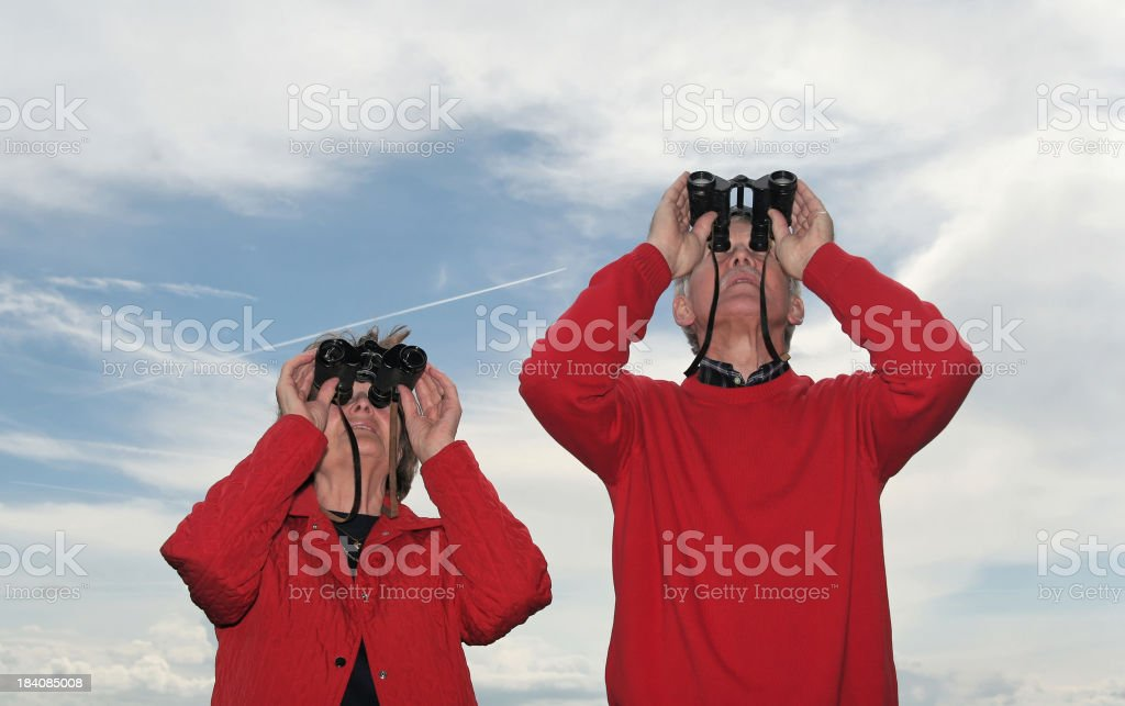 Look in the future I stock photo