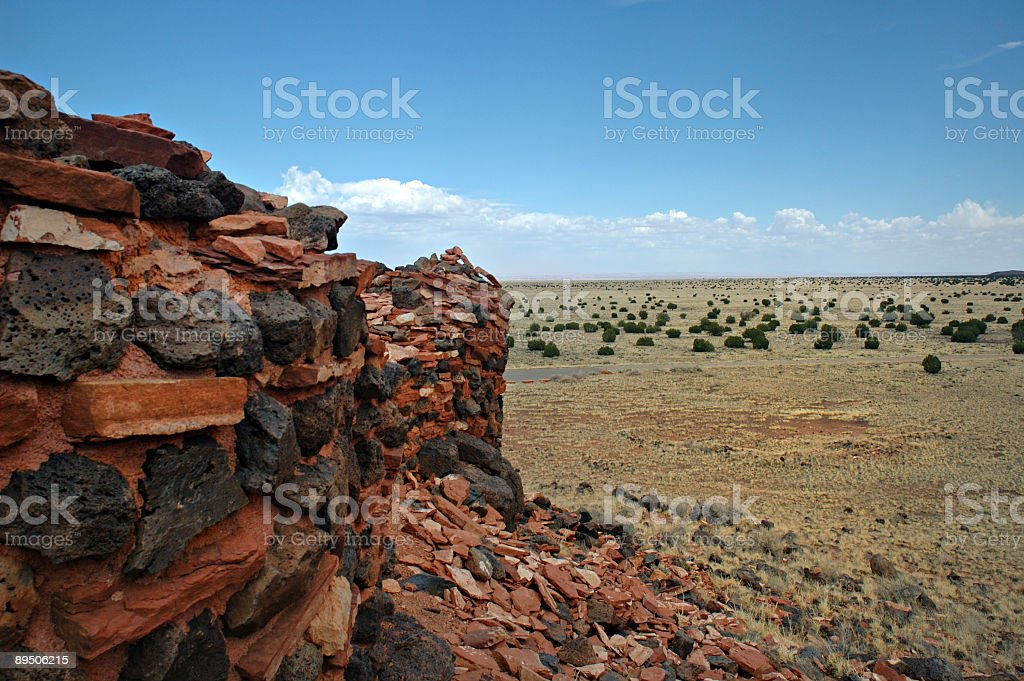Look into the Prairie royalty-free stock photo