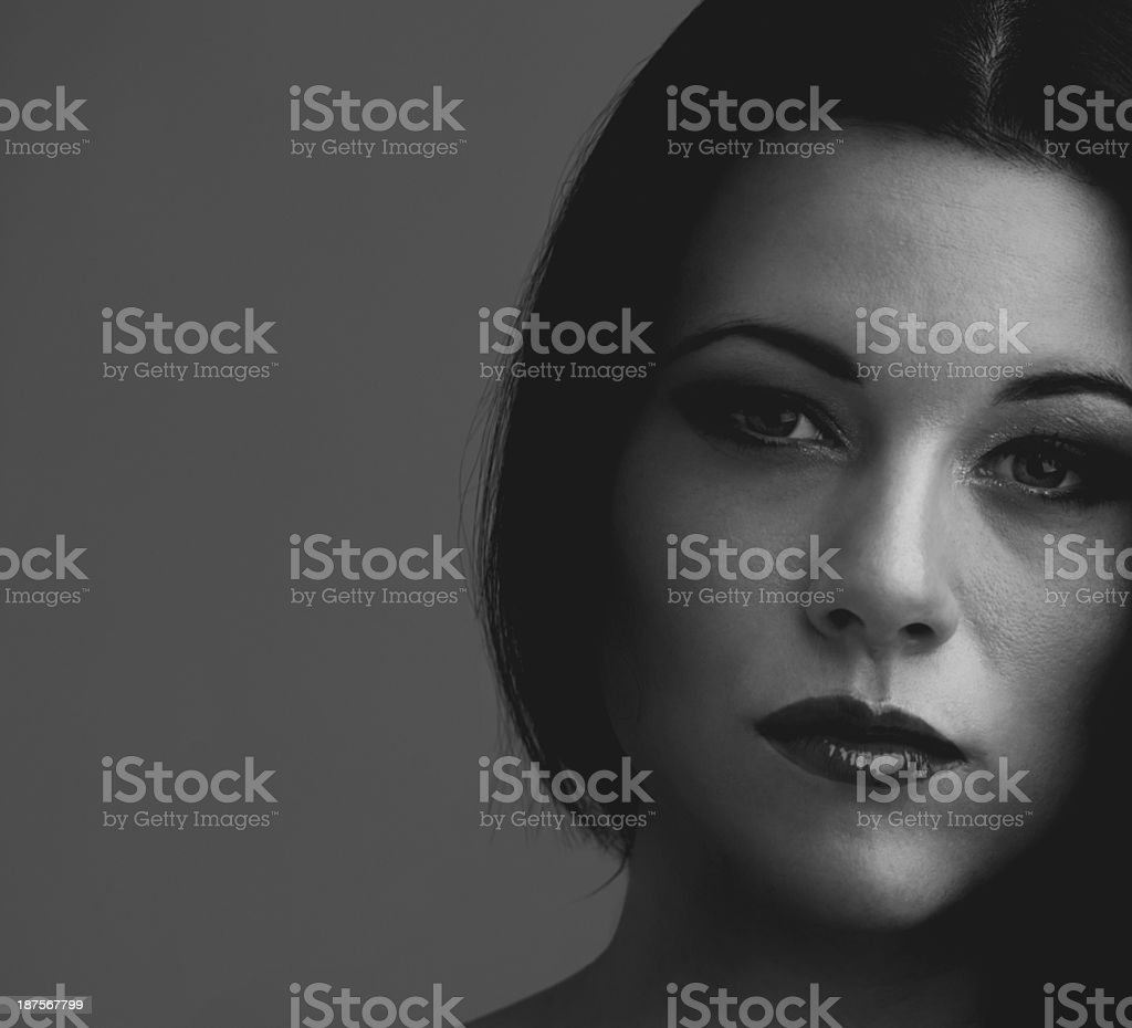 Look me in the eyes... stock photo