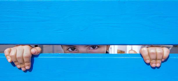 Blick eines Kindes – Foto