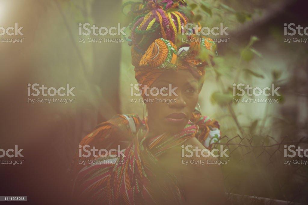 Look of femininity. royalty-free stock photo