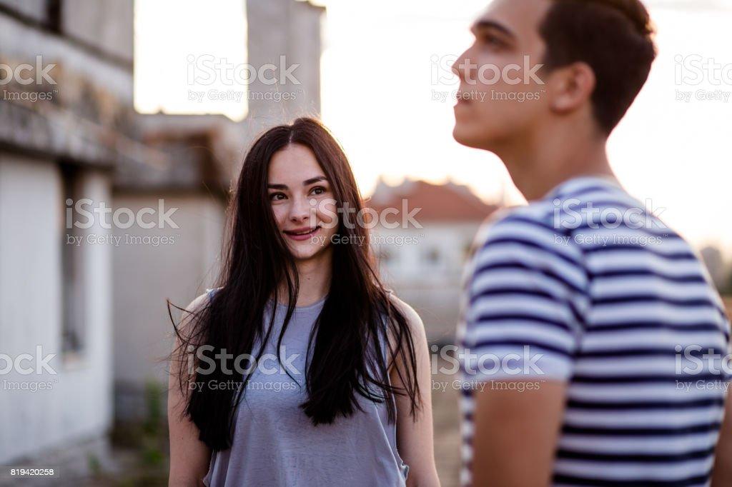 Look Of Love stock photo