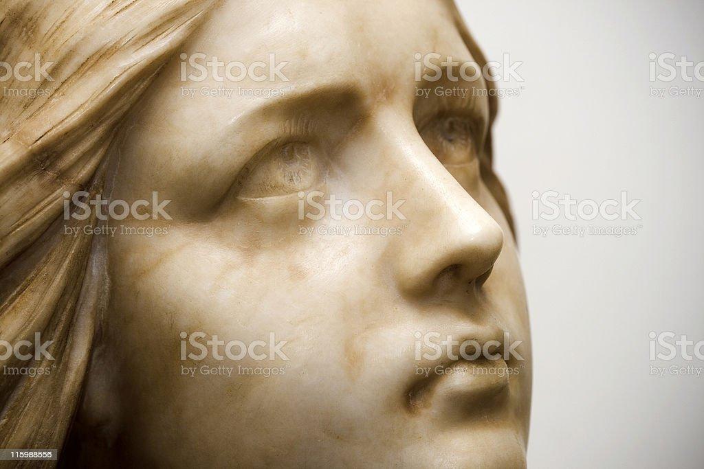 Look of stone (dream2) stock photo
