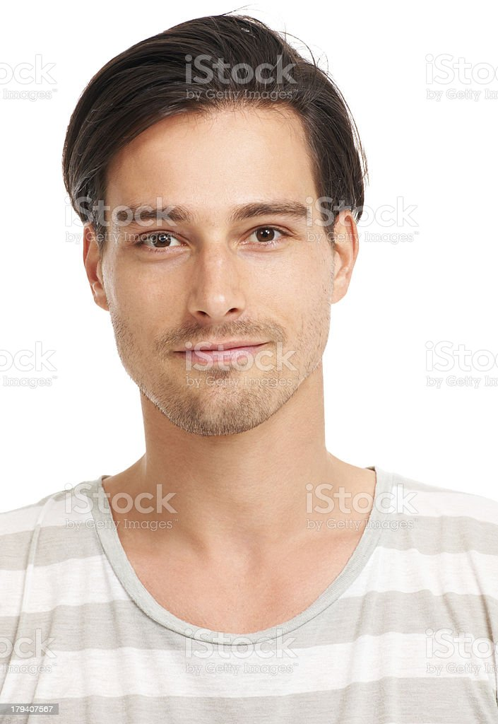 Look of youthful optimism royalty-free stock photo