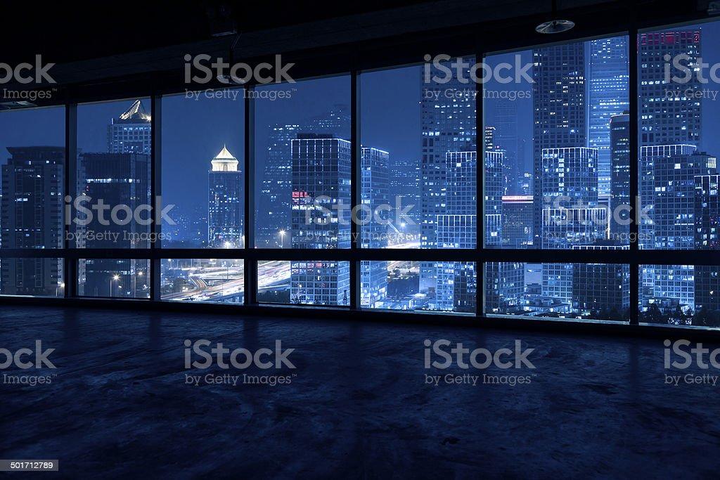 look through a window stock photo