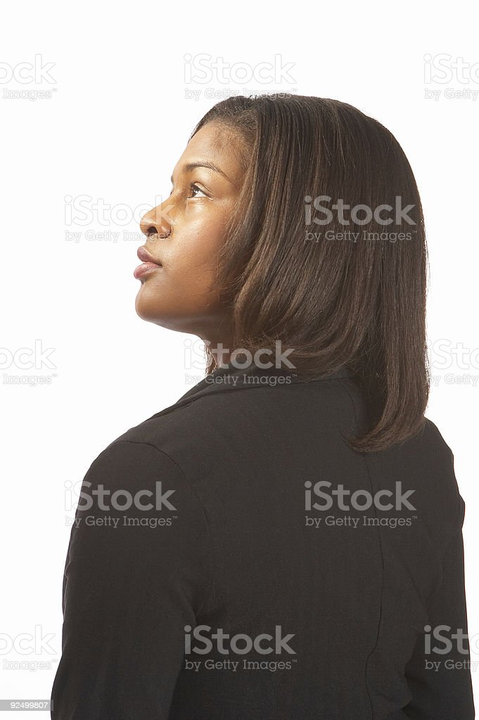 Look to heaven royalty-free stock photo