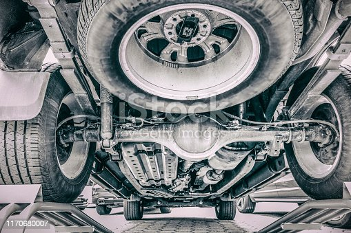 Look under the car before the used car purchase
