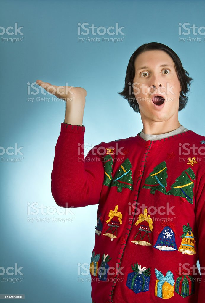 Look what I have royalty-free stock photo