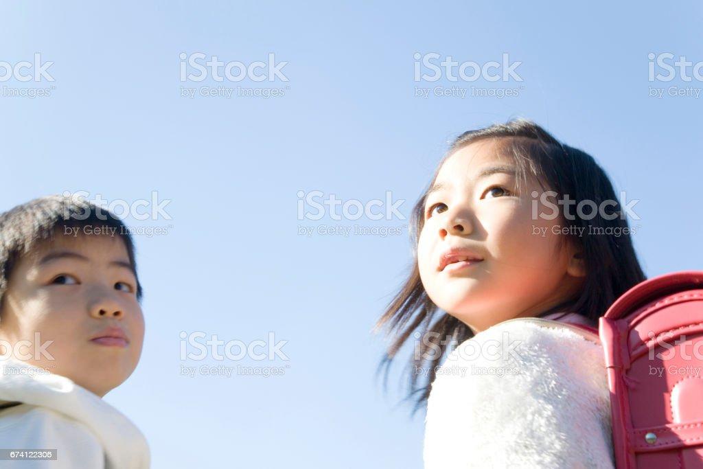 我回望小學 免版稅 stock photo