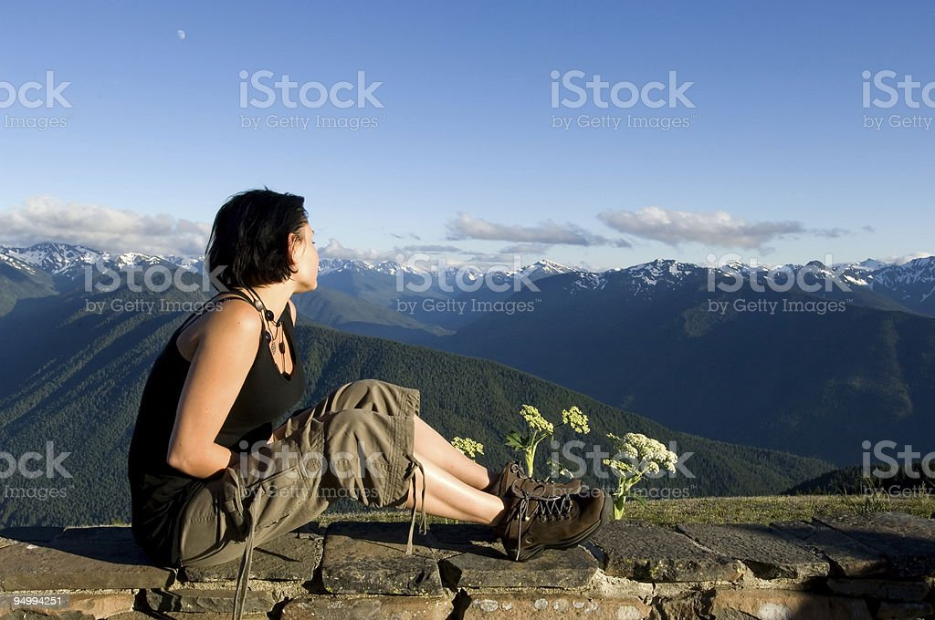 Looking ahead royalty-free stock photo