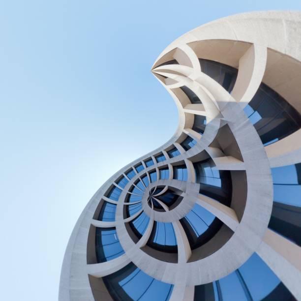 Mit Blick auf ein Bürogebäude von Washington DC – Foto