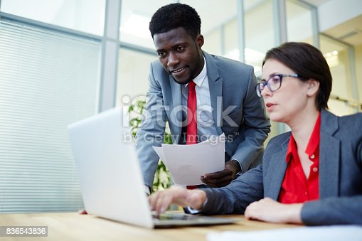 istock Looking at online data 836543836