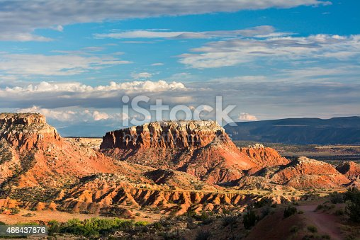 istock Looking at the red rocks at Ghost Ranch 466437876