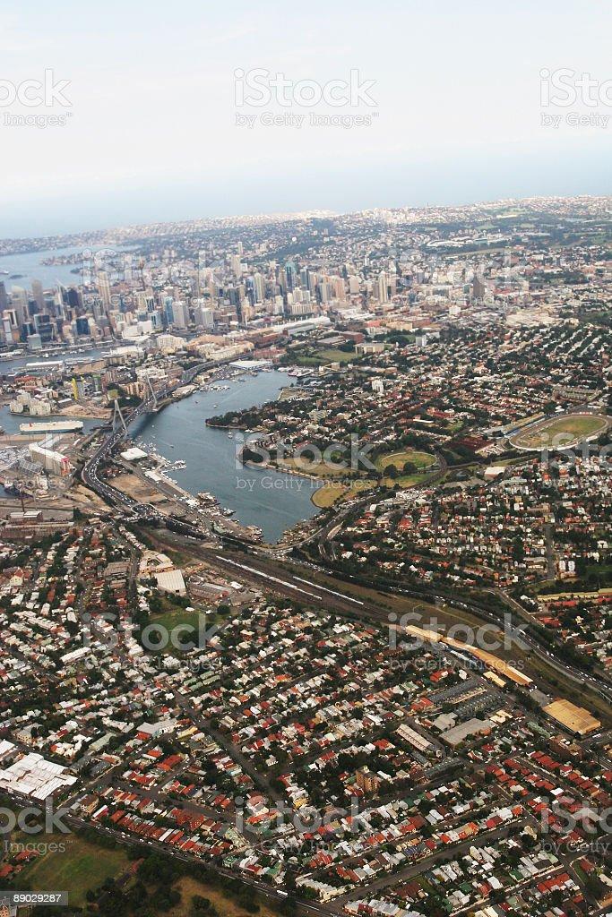 Blick auf Sydney Lizenzfreies stock-foto