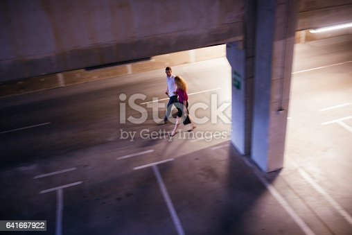 istock Looking for a car 641667922