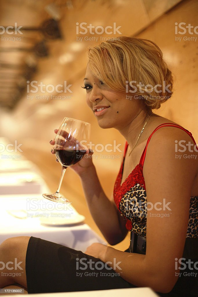 Looking for a Dinner Companion royalty-free stock photo