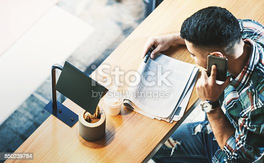 istock Looking for a job. 850239784