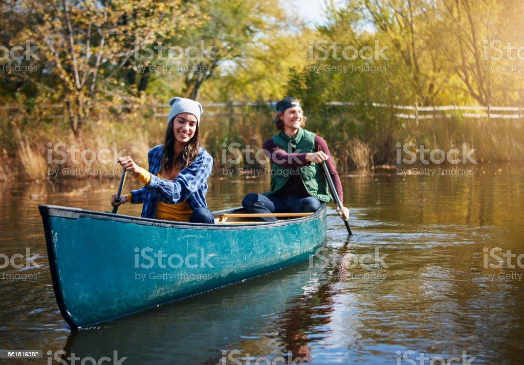 En quête d'aventure sur le lac - Photo