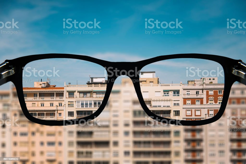 Looking for an apartment stock photo