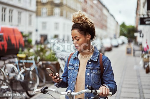 istock Looking for bike shops nearby 1069962264
