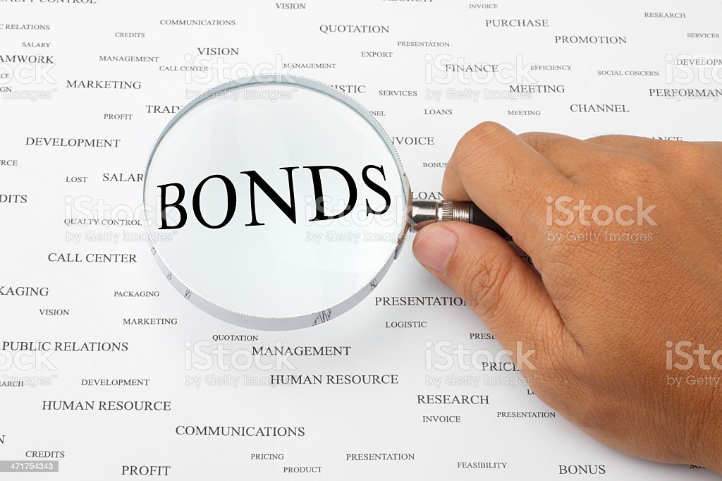 Looking for bonds. royalty-free stock photo
