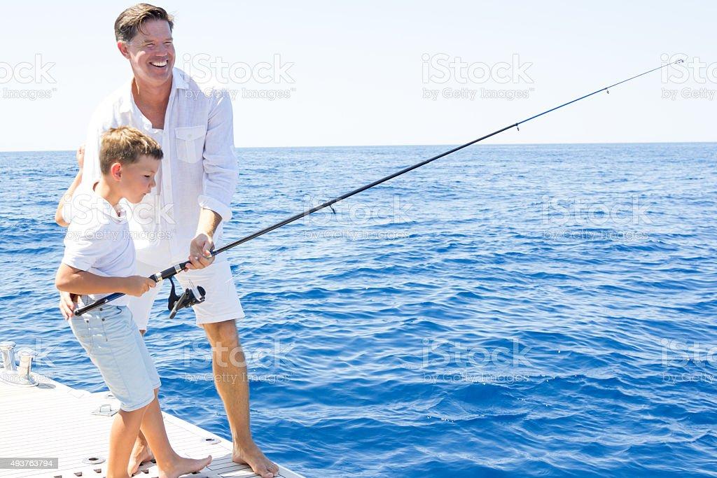 Recherche de poissons - Photo