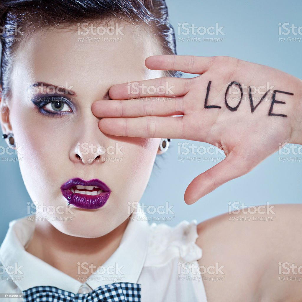 Looking for love royalty-free stock photo