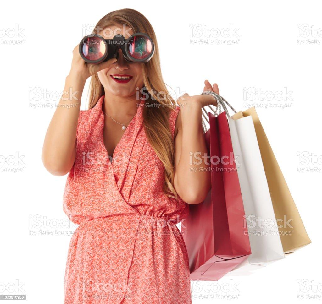 Looking for sales photo libre de droits