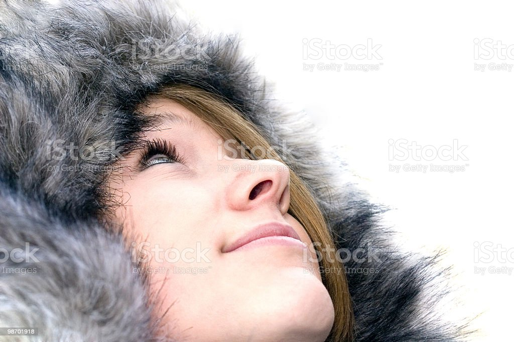 Looking for Snow royalty-free stock photo