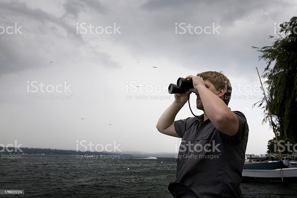 Looking for Solutions royalty-free stock photo
