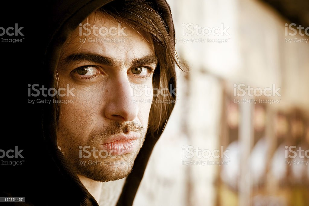 Looking for the truth royalty-free stock photo