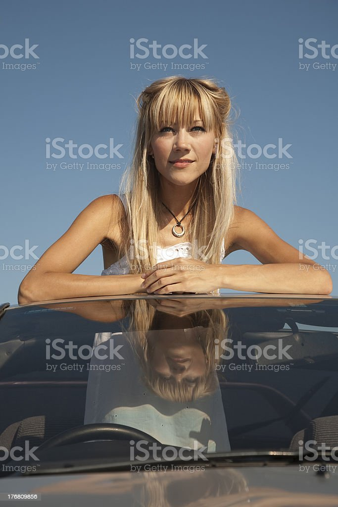 Looking forward to great journey royalty-free stock photo