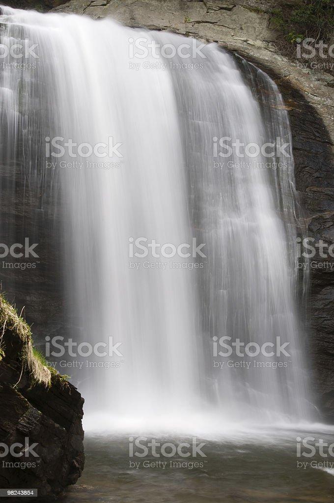 Looking Glass Falls, North Carolina royalty-free stock photo