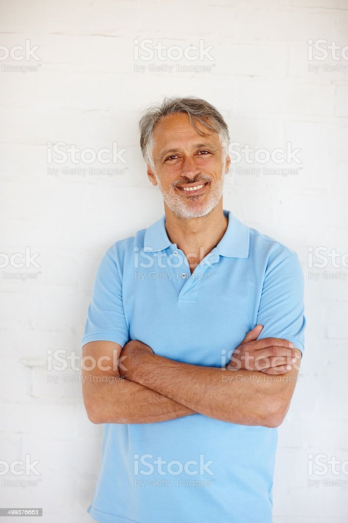 Looking great and keeping healthy stock photo