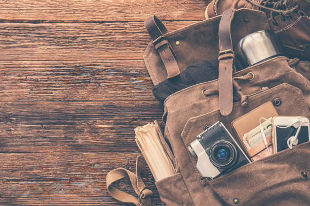 Looking image of travelling concept essential vacation items backpack picture id1028224608?b=1&k=6&m=1028224608&s=612x612&w=0&h=g mpfdpmchnq hgs2i 4iyxfnaknhtvsaqkmg71fxbm=