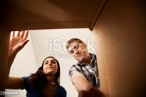 istock Looking into a box 174933458