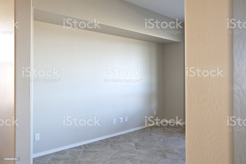 Looking into a New Room royalty-free stock photo
