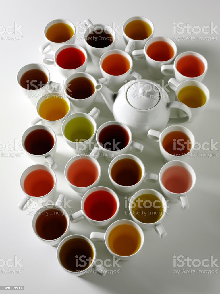 Looking into Tea royalty-free stock photo