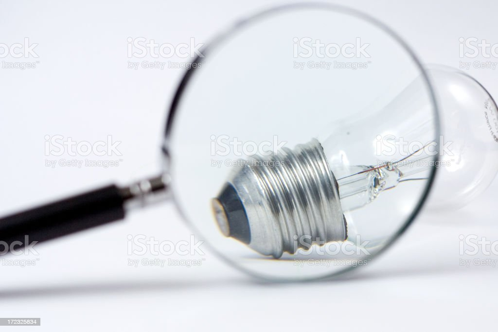 Looking into the idea royalty-free stock photo