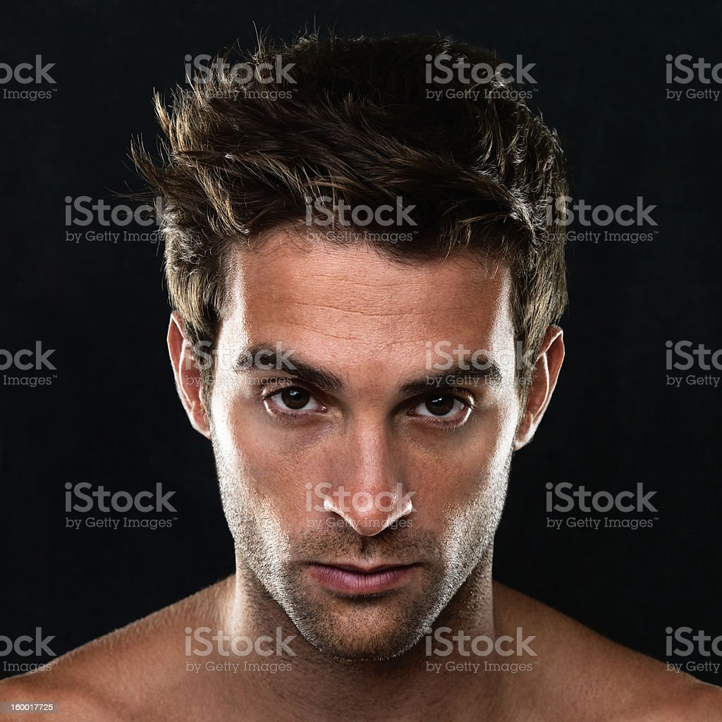 Looking into your eyes royalty-free stock photo
