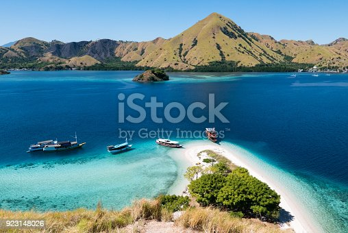 istock Looking Out from the Top of Kelor Island (Pulau Kelor), near Komodo National Park, Flores, Indonesia 923148026