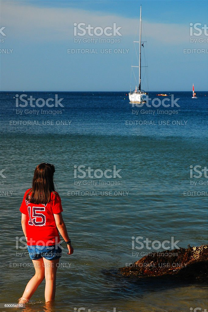 Looking out to the Sea - foto de stock
