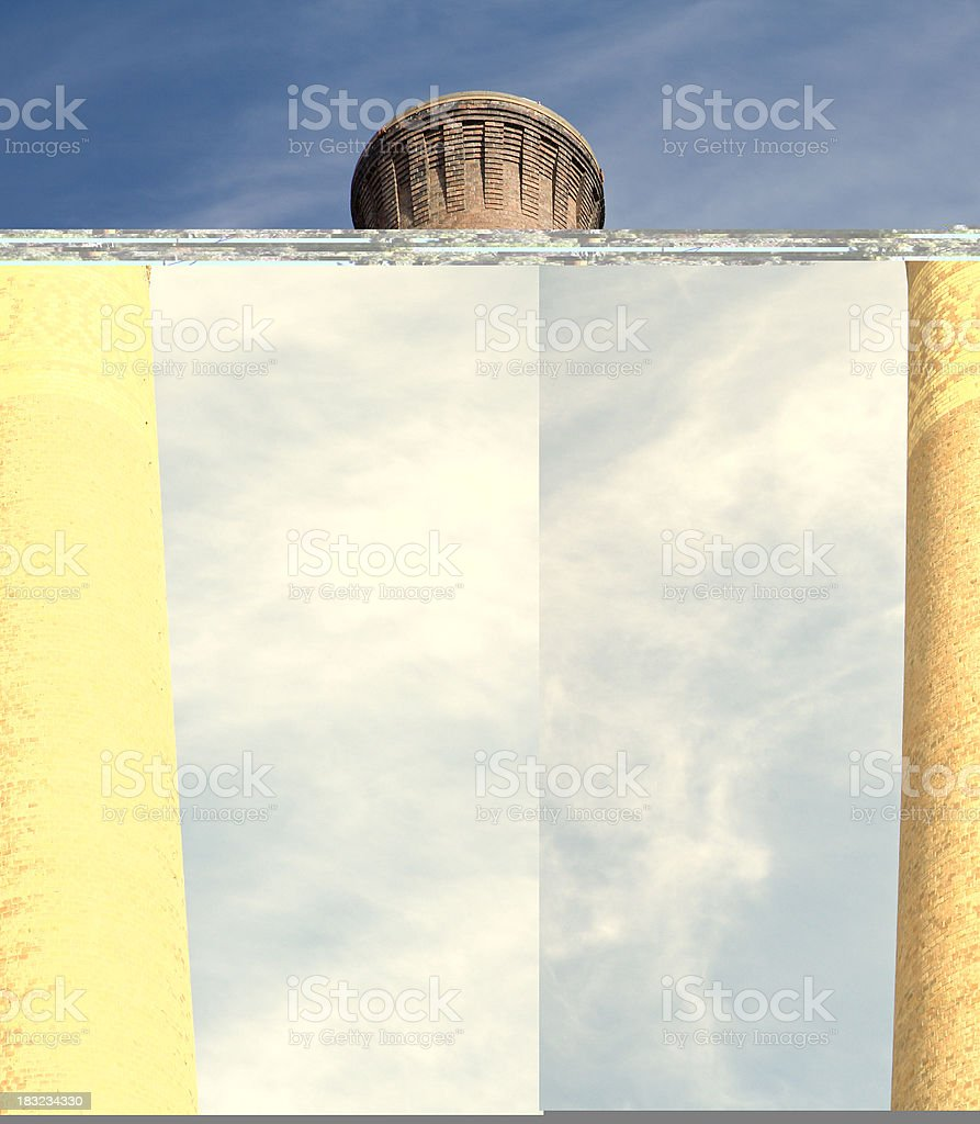 Looking Outside My Window On A Rainy Day royalty-free stock photo