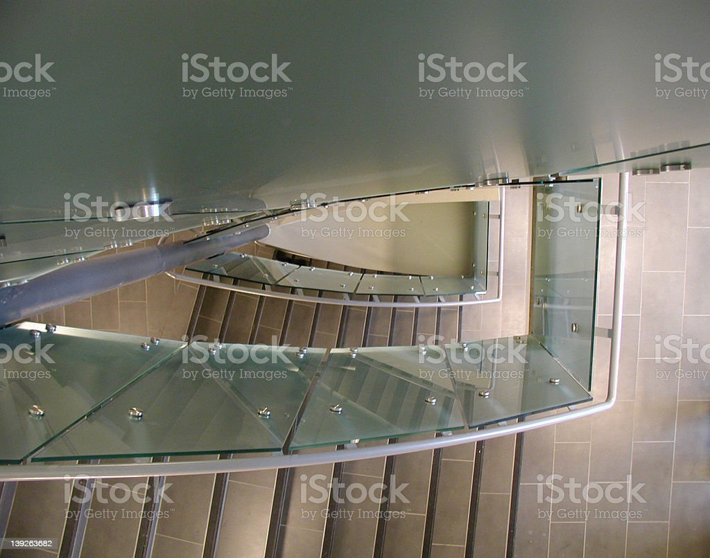 Looking Over The Edge royalty-free stock photo