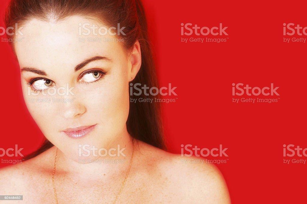 Looking stock photo