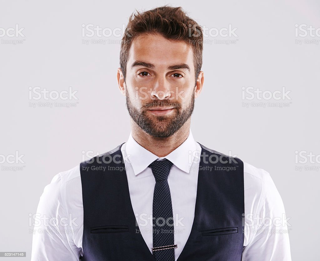 Looking stylish stock photo