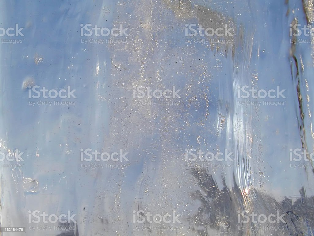 Looking through ice! royalty-free stock photo