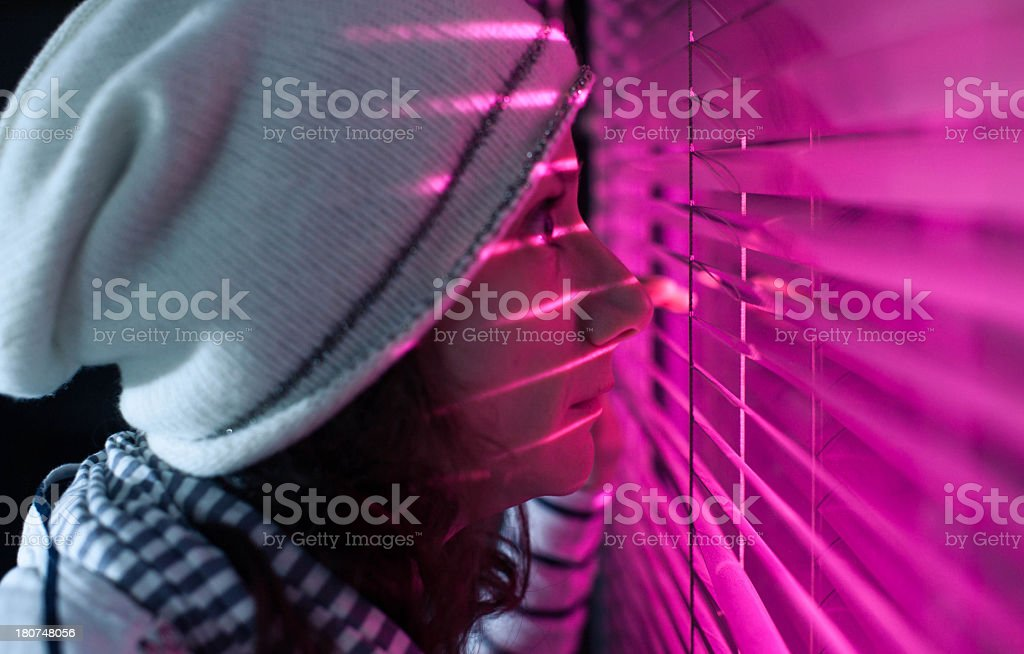 Looking through... royalty-free stock photo