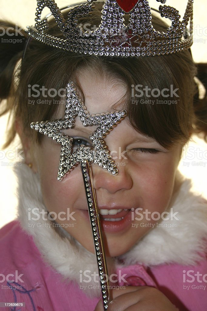 looking through the star royalty-free stock photo