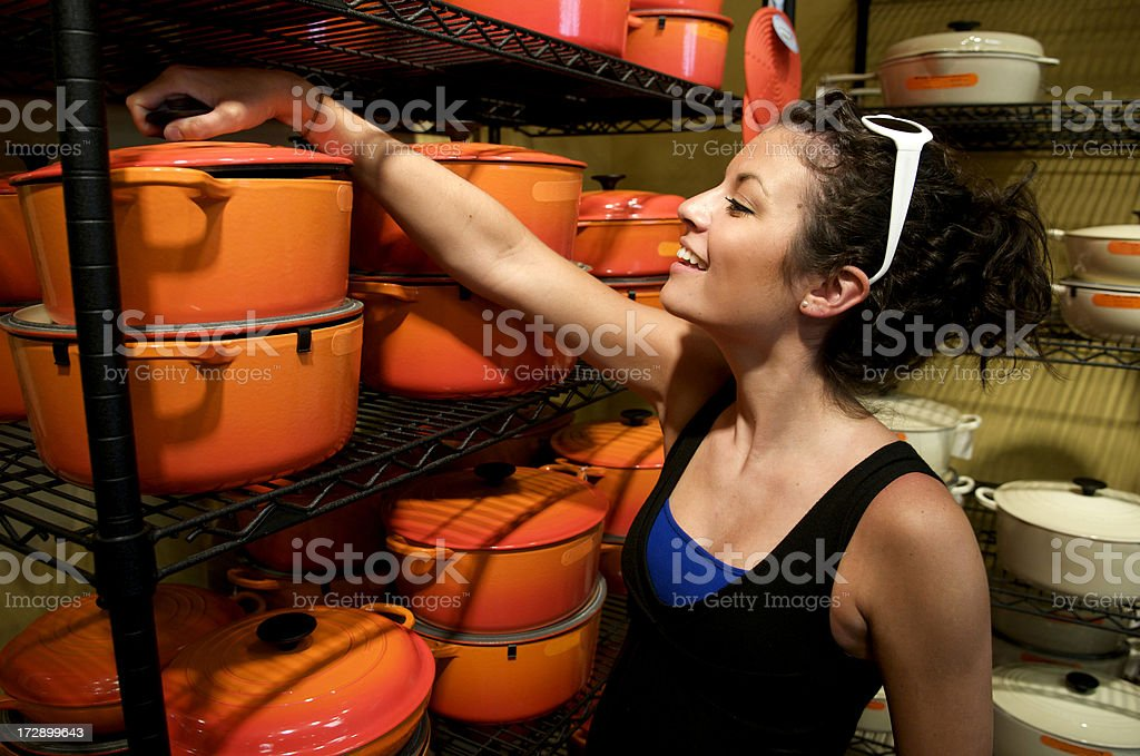 Looking to do Some Cooking royalty-free stock photo